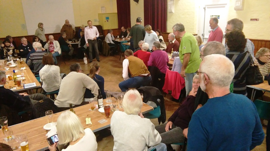 Another Pub night clearly demonstrates the need for a community hub in our village