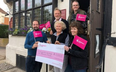 THE CHEQUER INN AWARDED NATIONAL LOTTERY FUNDING TO IMPROVE ACCESS