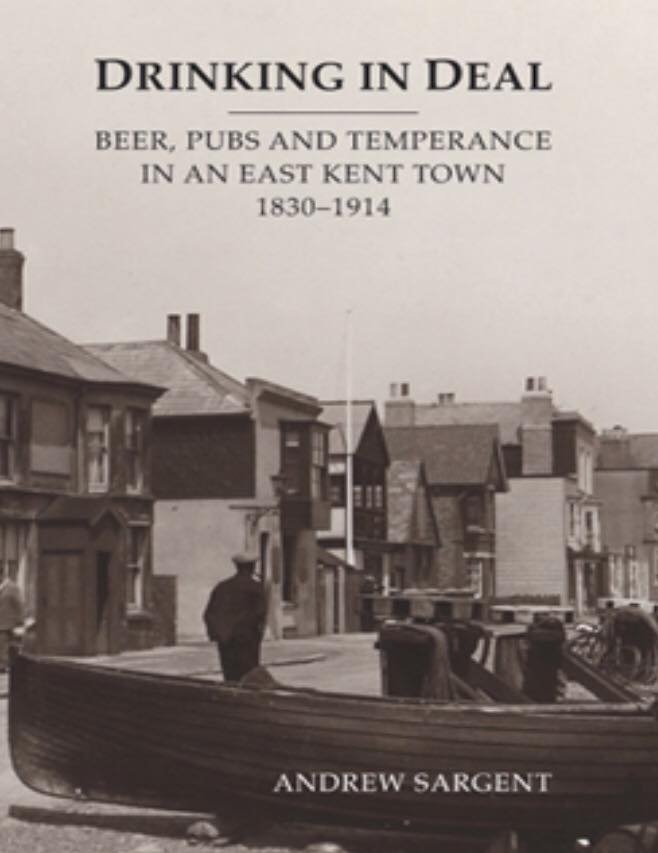 Drinking in Deal front book cover by Andrew Sargeant