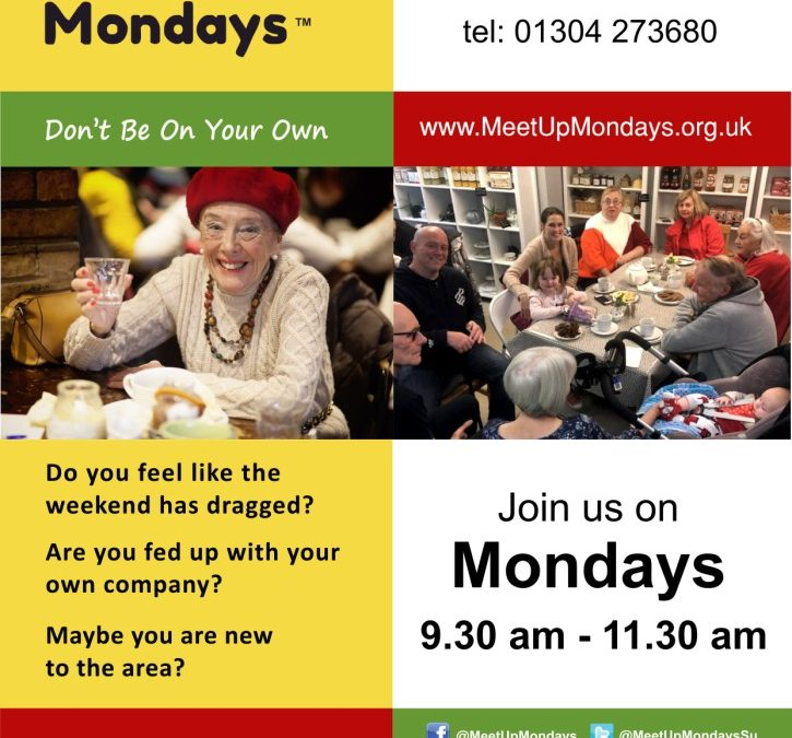 Meet Up Mondays start at the Chequer Inn
